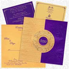 wedding card india king of cards india pvt ltd manufacturer of violet gold card