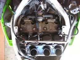valve adjustment kawasaki zx6e how to diy step by step