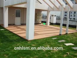 150 25mm wpc decking china waterproof lumber composite deck