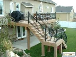Deck Stairs Design Ideas 2nd Story Deck Builders Ltd Second Story Deck Design Pictures