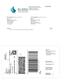 can you print your own fedex shipping label burris computer forms