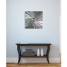 contemporary abstract metal wall art home decor static energy by