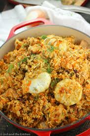arroz con pollo one pot mexican rice and chicken and the