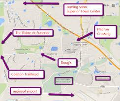 Cu Boulder Map Superior Relocation Boulder Real Estate News