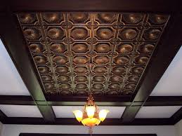 Talissa Decor Faux Tin Ceiling Tile 106 Antique Copper An Image From Ww U2026 Flickr