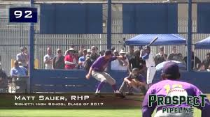 ernest righetti high school yearbook matt sauer prospect rhp righetti high school class of 2017