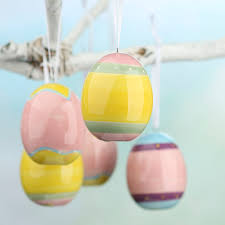 ceramic easter eggs assorted ceramic easter egg ornaments and easter