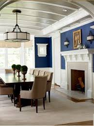 Dining Out In Your New Navy Blue Dining Room Bringing The Picnic - Navy and white dining room