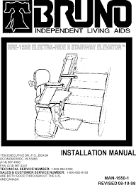 pcb4950 stairway elevator remote control user manual sre 1550 ls