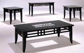 Glass Modern Coffee Table Sets Contemporary Decoration Living Room With Pack Cocktail Table Set