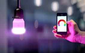 lifx color wi fi smart led light bulb internet of things at home
