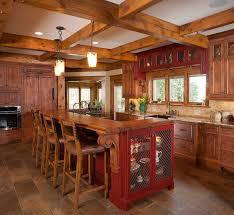 rustic kitchen islands 15 interesting rustic kitchen designs knotty alder rustic