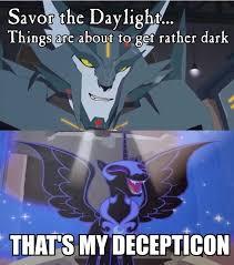 Transformers Meme - 885426 meme nightmare moon safe steeljaw that s my pony