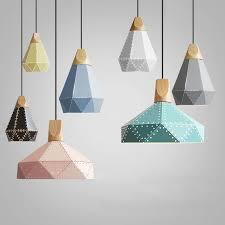 Nordic Loft Industrail Laser Cutting Pendant Lamp Bedroom - Bedroom laser lights