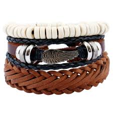 leather bracelets for men online get cheap leather bands for men aliexpress com alibaba group