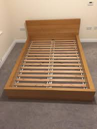 Malm Low Bed Frame Ikea Malm Bed Frame Low Oak In Darlington County Durham