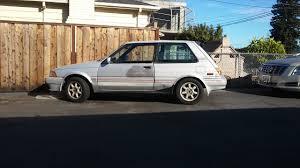curbside classic 1987 toyota corolla fx16 u2013 when corollas still