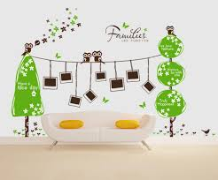 Owl Wall Sticker Funny Family Tree Wall Decals To Add Beauty Of Your Room