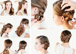 Einfache Frisuren Lange Haare Selber Machen Anleitung by Schnelle Frisuren Für Jeden Tag Die Nur In 3 Minuten Fertig Werden