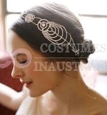 1920 hair accessories 1920 vintage hairband 20s flapper chain headpiece gatsby bridal