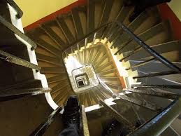 Looking Down Stairs by Looking Down The Stair Case In The Clock Tower Big Ben Flickr