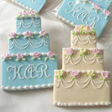 wedding cake cookies wedding cookies wedding cookie favors decorated wedding cookies