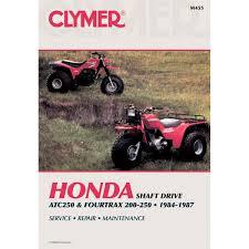 clymer repair manual honda atc250 fourtrax 200 250 m455