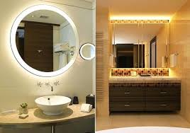 Bathroom Vanities And Mirrors Sets Framed Vanity Mirrors Bathroom Regarding Mirror Ideas 18