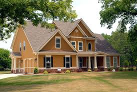 brown craftsman homes exterior paint colors for brick red wall