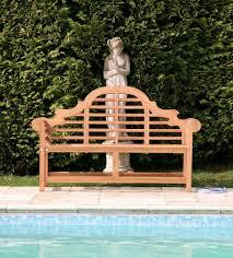 Teak Garden Benches Lutyens Seat Teak Garden Bench Sustainable Furniture