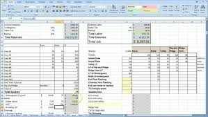 Excel Templates For Construction Estimating by Construction Estimating Spreadsheet Excel Laobingkaisuo Com