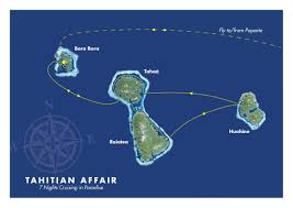 Bora Bora On Map Of The World by Island Escape Cruises U2013 Far And Away Adventures