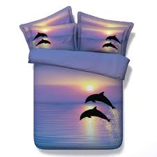 Twin Size Bed Sets Sale by Online Get Cheap Dolphins Bedding Aliexpress Com Alibaba Group