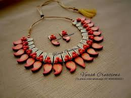 of terracotta jewellery designs and ideas terracotta