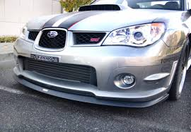 front mount intercooler for 2002 07 wrx sti