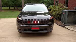 jeep cherokee lights firefighter pov lights 2014 jeep cherokee youtube