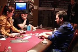 representing on the river turning a pair into a bluff pokernews