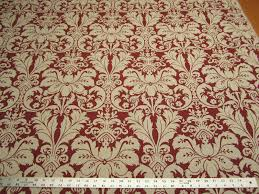 Maroon Upholstery Fabric 6 5 8 Yards Lacefield Designs Charlotte Sangria Damask Upholstery
