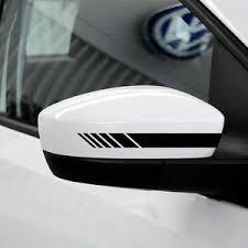 mercedes decal vinyl rearview mirror car sticker racing stripe decal emblem