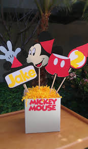 mickey mouse center pieces diy centerpieces for mickey mouse clubhouse themed oh