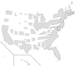 Population Density Map Us Us States Scaled Proportionally To Population Density 1159x1024