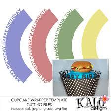 cupcake wrapper templates u0026 cutting files digishoptalk products