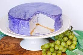 no bake grape cheesecake with mirror glaze tatyanas everyday food