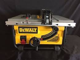 dewalt dwe7480 10 inch portable compact table saw 24
