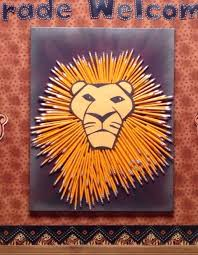 lion king wrapping paper 191 best lion crafts images on animals lion craft and diy