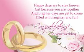 happy wedding message 52 happy wedding wishes for on a card