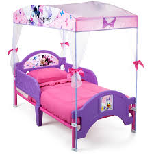 Dog Bed With Canopy Disney Minnie Mouse Bow Tique Canopy Toddler Bed Lavender