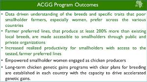 acgg u2013 on farm study training manual presentation nigeria ppt