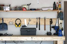 build a diy workbench empress of dirt