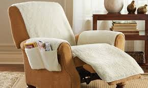 as seen on tv chair covers as seen on tv snuggle up recliner seat cover with 4 storage